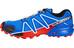 Salomon Speedcross 4 Trailrunning Shoes Men blue yonder/black/lava orange